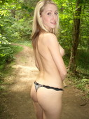 Amateur photo cute blonde in the forest (122pics) Privat006 Albina