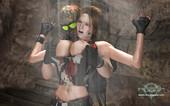 Epoch Art - Clara Ravens vs. Mercenaries