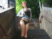 Naked girl on the street - Glasgow Great Britain (61pics) Apics7528